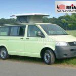 VW Van mit Hubdach