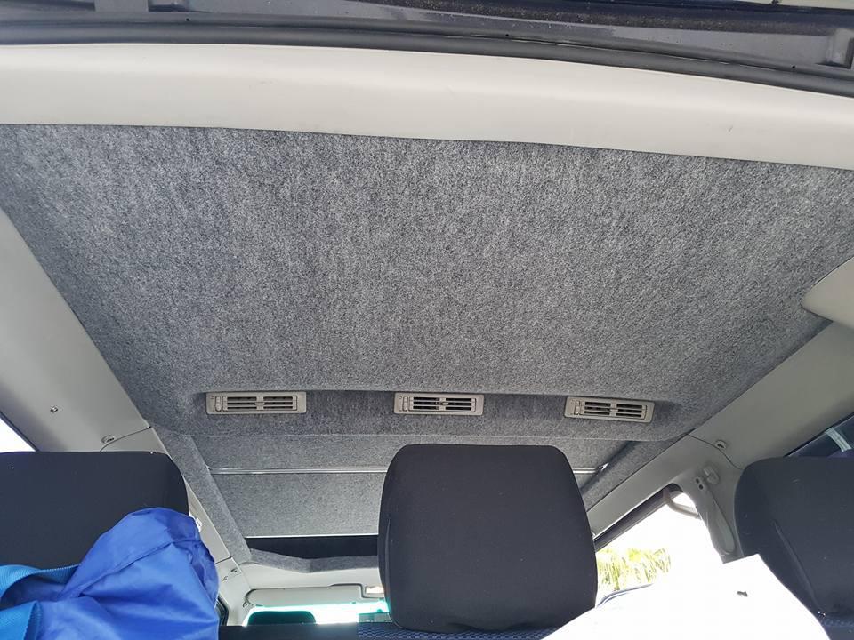 VW T4 Klimahimmel Anpassung Hochdach