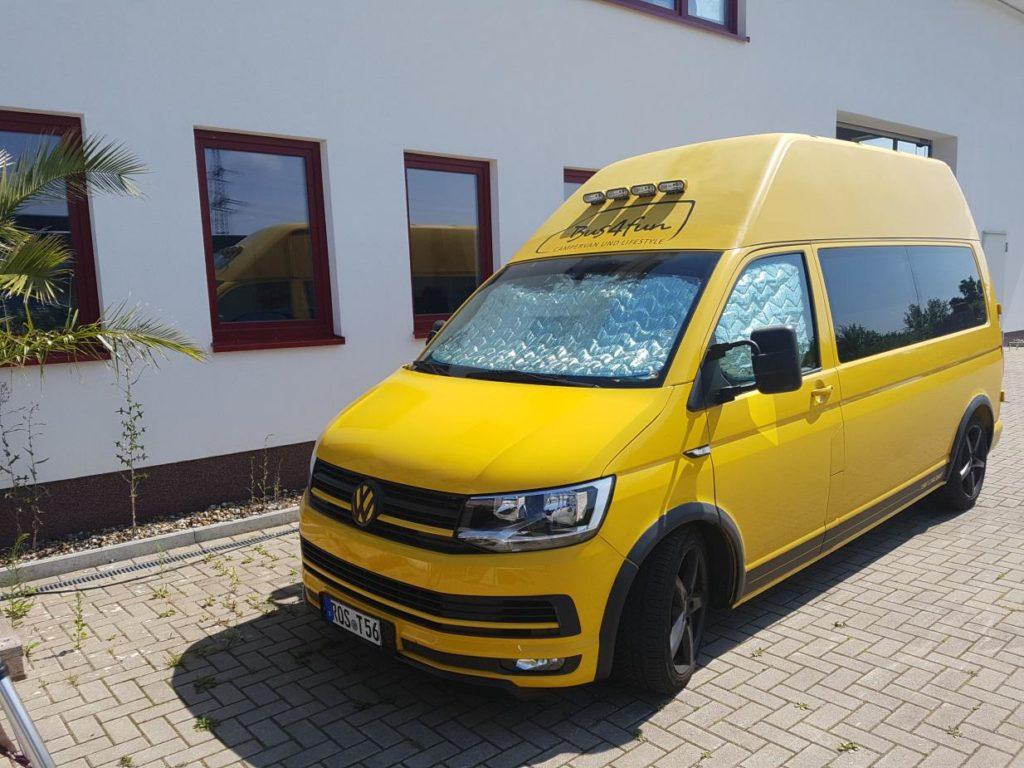 Thermomatte Isoflex für Fahrerhaus VW T5 / T6