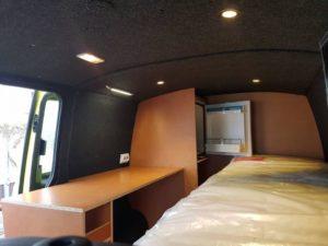 Innenausbau mit B4f Carpet-Filz