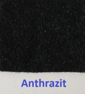 B4F Carpet-Filz Muster Anthrazit