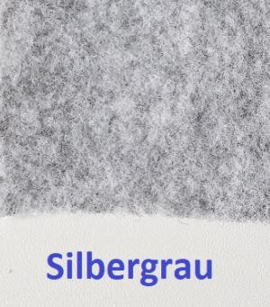 B4f Carpet Filz silbergrau Bus4fun