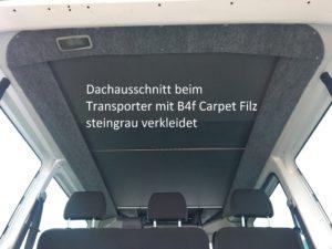 B4f Aufstelldach 2 VWT5 / T6 Komplettpreis