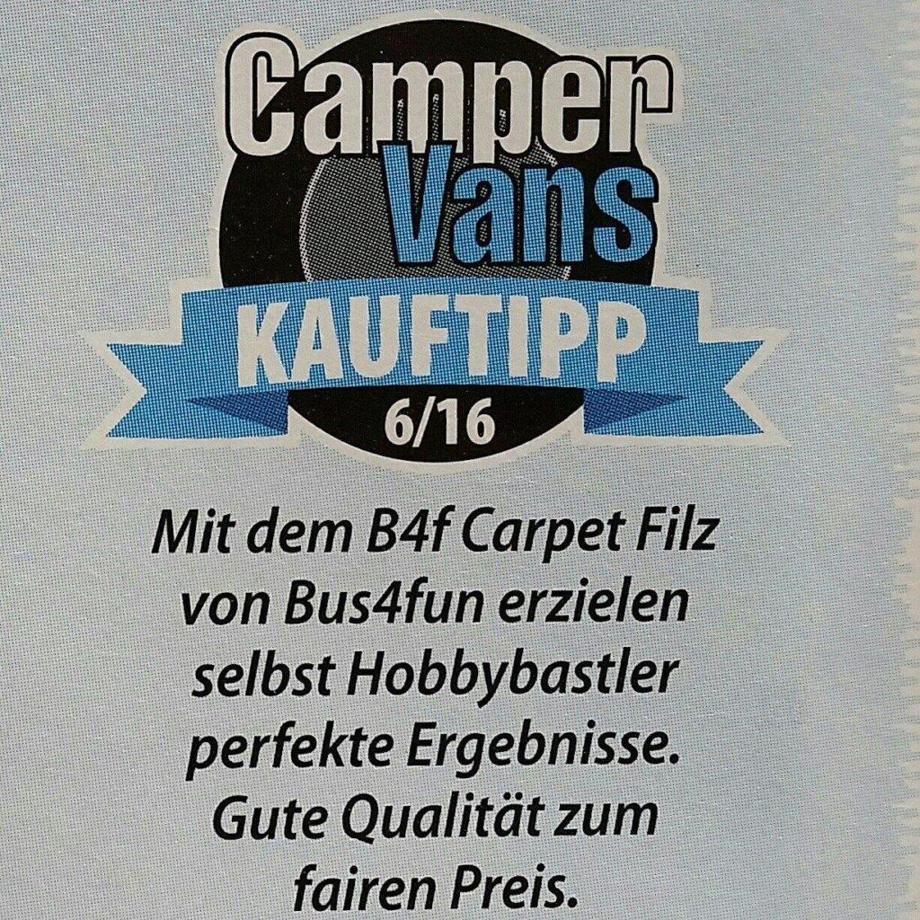 Kauftipp-Camper-Vans-B4f-Carpet-Filz