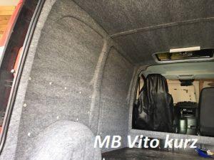 Mercedes Benz MB Vito kurz mit B4f Carpet-Filz