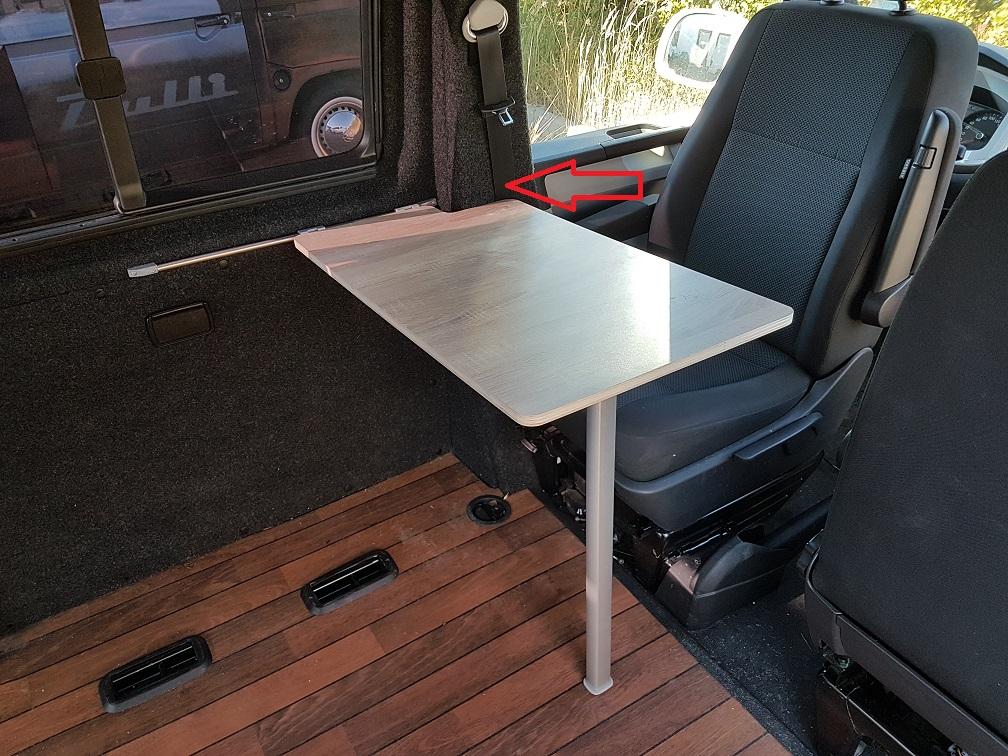 Campingbus Tisch.Tisch2 Stylecamper