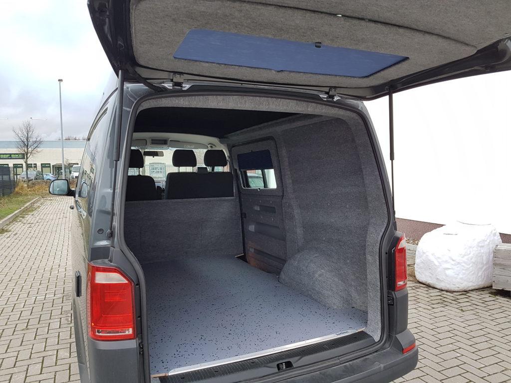 Innenverkleidung VW T6 mit B4f Carpet-Filz