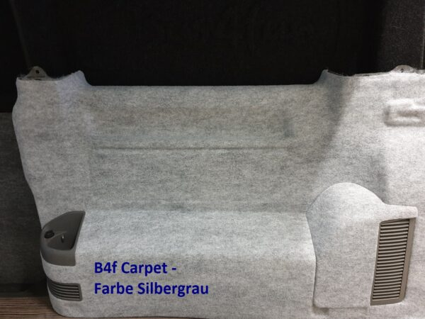 T5 Seitenteil Bus4Fun Carpet Filz Silbergrau