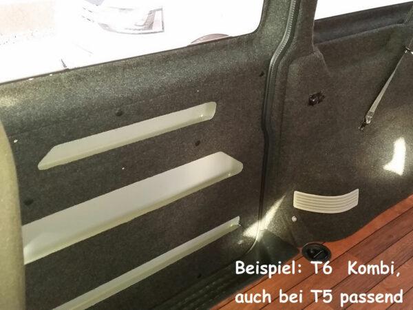 T6 Innenverkleidung Bus4Fun Carpet Filz Anthrazit