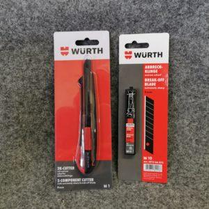 WUERTH Cuttermesser Set www.bus4fun.de SKU 10190