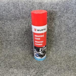 Würth Industrie Clean - der perfekte Reiniger für Klebereste