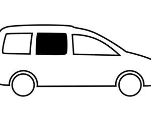 Schiebefenster VW Caddy Maxi