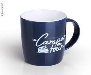 Becher »Camper on Tour« aus hochwertigem New Bone China für 340ml Reimo Bus4fun.de 95801 SKU 10195