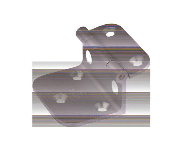 Winkelbeschlag für Tischplattenhalter, Alu, natureloxiert, 55x45mm 53358 Reimo I Bus4fun.de