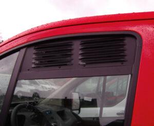 Fenstergitter passend für Ford Custom und Ford Tourneo Custom ab Bj. 2013 461571 SKU 10131 Bus4fun Reimo
