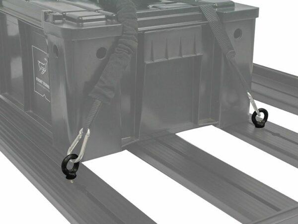 ZURRSCHRAUBEN - SCHWARZE GALVANISIERTE RINGSCHRAUBEN 3- VON FRONT RUNNER BUS4FUN SKU 10108