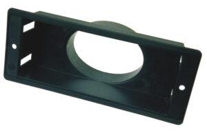 Rohranschluss nach hinten am Rechtecklüfter (Anschlussstück ANH) Reimo 49492 Bus4fun SKU 10185