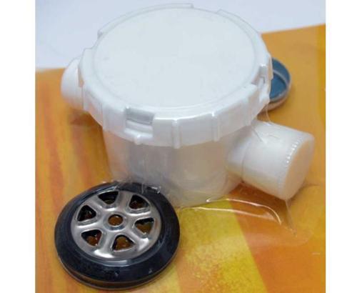 SMEV Siphon Mod.557 2 Anschlüsse (1x verschließbar), Typ A Reimo 64305 Bus4fun SKU 10178