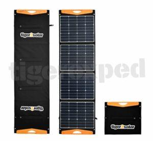 "Solartasche 160Wp ""big tiger 160/USB truck edition"" mit 2xUSB und Kabelsatz (12V/24V-geeignet, ETFE-Oberfläche) TEX2004-A tigerexped bus4fun.de"